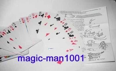 Karten Zaubertricks