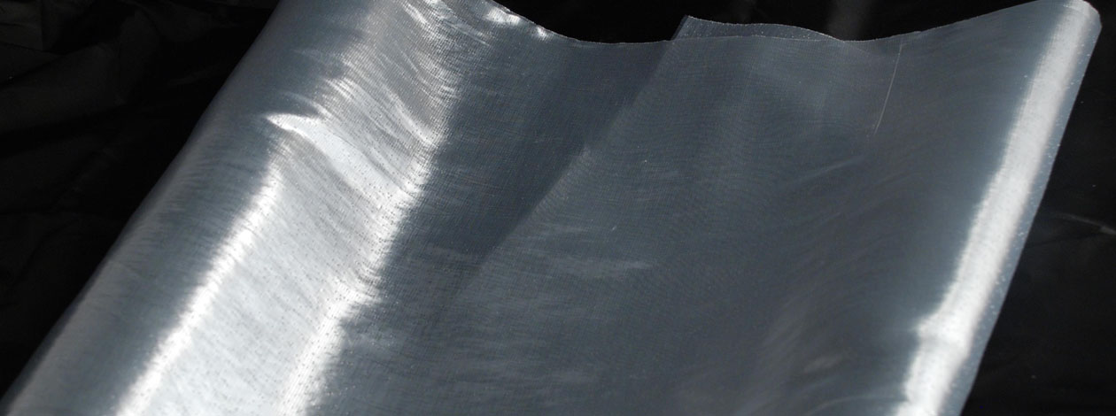 35 cm x 20 m Organza metallic - Oberfläche schimmert wie Metall