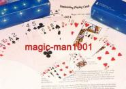 Schrumpfende Karten   -  Diminishing Playing Cards