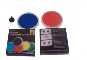 Jumbo Rainbow Chips - Regenfarben Scheiben - Zaubertricks