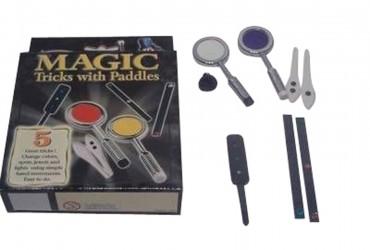 4 Tricks with Paddles - Zauberkasten mit Zaubertricks mit Paddeln