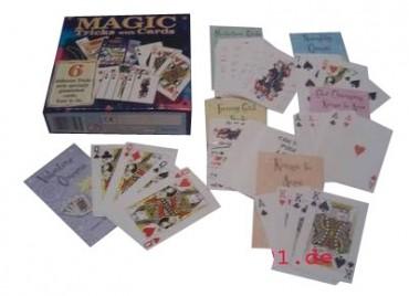 6 + Zaubertricks mit Karten - Zauberkasten