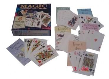 6 + Zaubertricks mit Karten - Zauberkasten - Kartentricks