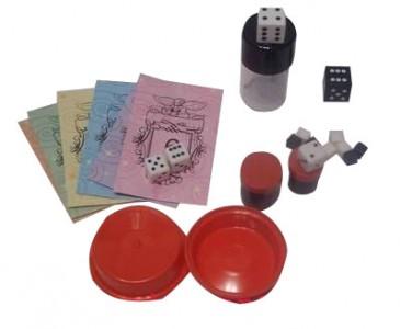 5 Zaubertricks mit Würfel - Zauberkasten  Zaubertrick Set  Würftricks