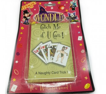 Catch me if you can - Fang mich, wenn du kannst - Karten Zaubertrick