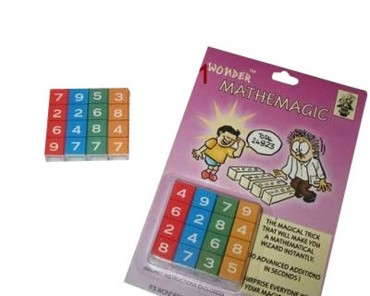 Mathemagic   -   Rechenzauberei - Zaubertricks