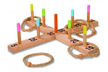 Eichhorn EH Outdoor Ringwurfspiel Geschicklichkeitsspiel - Ringe werfen