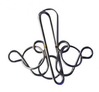 Verzwickte Ringe - Metallpuzzle - Puzzle