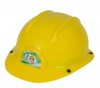 Simba Kinder Bauhelm - Kinderhelm in gelb - gelber Helm für Kinder ab 3 J.