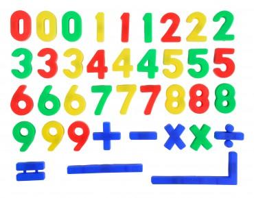 Art & Fun Magnet - 37 Zahlen/Zeichen- magnetische Zahlen und Zeichen- Magnete