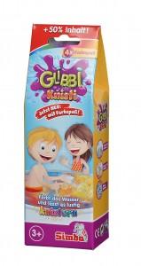Simba Glibbi Knisti 4 er Pack -Knisterpulver Glibber 4x10 g ab 3 Jahre