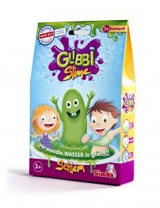 Simba Glibbi Slime - Schleim für die Badewanne - Schwimmartikel 150g ab 3 Jahre