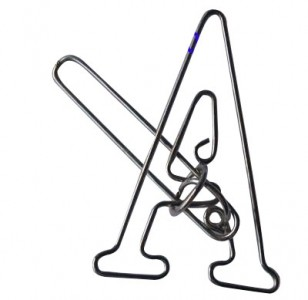 Das A-Puzzle - Metallpuzzle A
