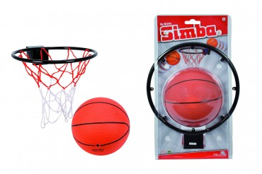 Simba Basketball Korb D 22 cm mit Ball ab 3 Jahren