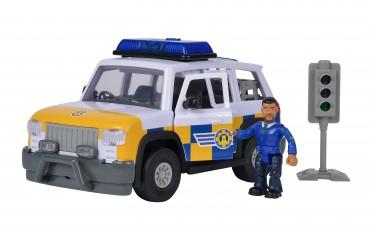 Simba Sam Polizeiauto 4x4 mit Figur - Feuerwehrmann