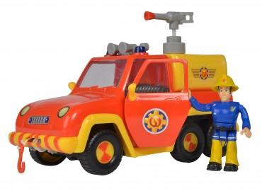 Simba Feuerwehrmann Sam Venus Feuerwehrauto mit Figur