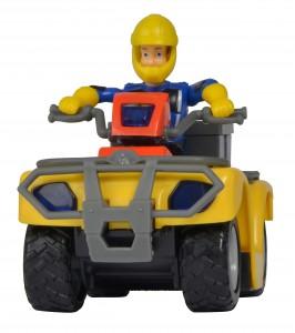 Simba Feuerwehrmann Sam Mercury Quad mit Figur