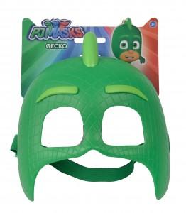 Simba PJM Mske Gecko - Gekko in grün - Pyjamahelden - Kindermaske