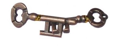 unzertrennliche Schlüssel - Metallpuzzle Schlüssel