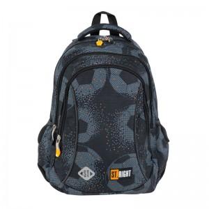 Schulrucksack Rucksack für Schule 20 l 3 Fächer Fußball - Football BP26