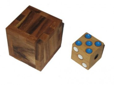 Geduldspiel: Magischer Holzwürfel