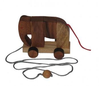 Das Elefanten Puzzle - Holzpuzzle