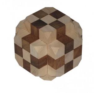 Der große Diamant- Holzpuzzle
