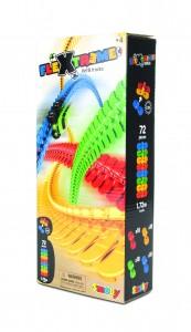 Smoby Flextreme Nachfüllpack Schienen - 72 Ergänzungs-Schienen 4 Farben