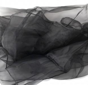 Jongliertücher 70 x 70 cm im 3er Pack - Set Jongliertuecher schwarz