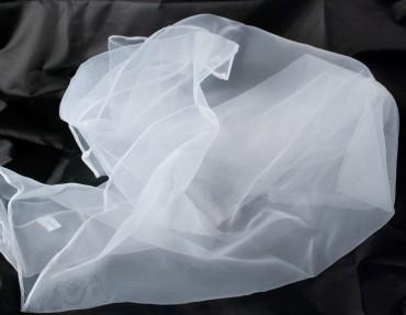 Jongliertücher 70 x 70 cm im 3er Pack - Set Jongliertuecher weiß