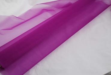 Organza Stoff lila 10 m x 70 cm - Deko Stoff  Dekostoff - Tischdeko