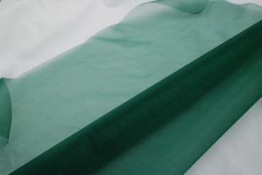 Snow Organza 70 cm x 10 m tannengrün - Dekostoff  Organzastoff