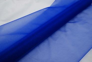 Organza blau 10 m x 70 cm - Organzastoff Dekostoff