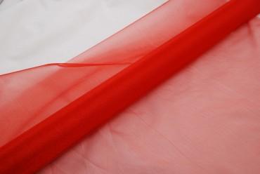 Organza rot 10 m x 70 cm - Deko Tischdecke  Organzastoff