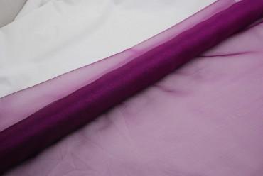 Organza lila 70 cm x 10 m 2-Ton