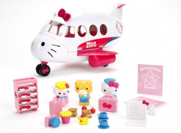 Dickie Toys Hello Kitty Jet Plane Playset - Flugzeug Spieleset