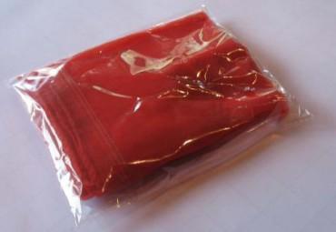 3 Jongliertücher 40 x 40 cm rot