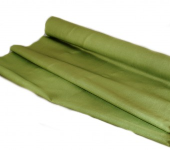 Taft Stoff 50 cm - 10 m - oliv - Näh - und  Deko Stoff
