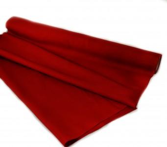 Taft Stoff 50 cm - 10 m - dunkelrot - Näh - und  Deko Stoff