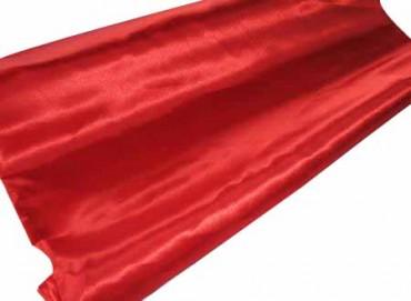Satin Stoff 140 cm x 10 m Farbauswahl - blickdichter Dekostoff aus Satin