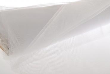 Tüll Stoff weiß 150 cm x 10 m Tüllstoff Dekostoff