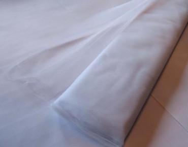 Tüll Stoff weiß 150 cm x 10 m Tüllstoff