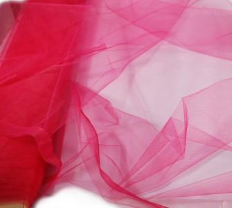 Tüll in Lippenstift pink 150 cm x 10 m Tüllstoff
