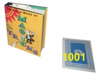 Kleines Buch für Zaubertricks - englisches Taschenbuch