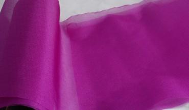 Organza lila 35 cm x 20 m