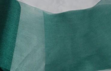 Organza 35 cm x 20 m tannengrün