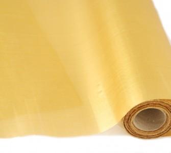 Organza Metallic 35 cm x 20 m Gold Tisch Dekoration