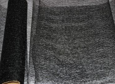 Organza Geflecht 35 cm x 10 m schwarz Tischkäufer