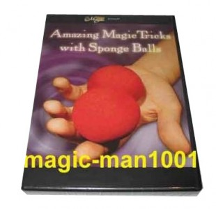 Amazing tricks with sponge balls DVD
