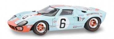 Ford GT40 blau #6 1:18 Solido Modellauto Metall - 24h Le Mans